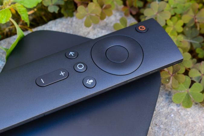 Xiaomi Mi TV box and remote