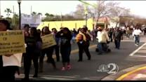 MLK marchers take to Daytona Beach