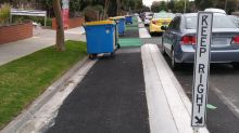 Fury over 'suboptimal' city bike lane