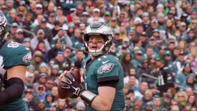 Which quarterback is more likely to represent NFC in a Super Bowl: Philadelphia Eagles quarterback Carson Wentz or Carolina Panthers quarterback Cam Newton?