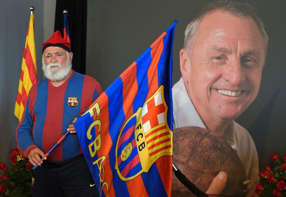 Barcelona benennt Stadion nach Cruyff und errichtet Statue