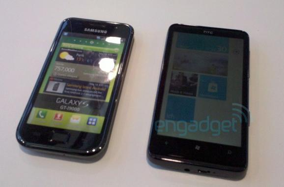 HTC HD7 leaks out once more with Dolby Sound, stars in a brief video