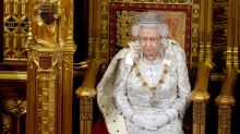 Queen delivers parliamentary speech in regal attire and metallic heels: 'Amazing at 93'