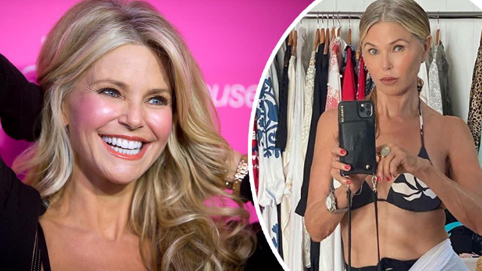 Christie Brinkley, 65, rocks bikini in new post about ageing