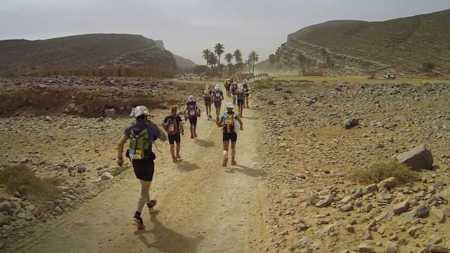 Jogging with James - Will He Make It Through the Sahara? James Marshall Pushes On in the Epic Marathon de Sables