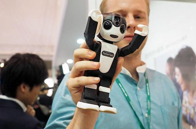 Only in Japan: the robot that's a smartphone that's a robot