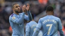 """Kyle Walker: City will """"fight until the end"""" despite Liverpool's 14-point lead"""