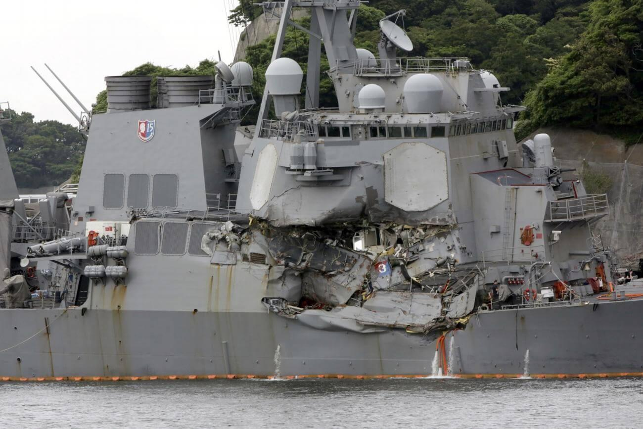 New Federal Probe Finds Navy Failed to Prevent Deadly Destroyer Fitzgerald Collision