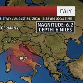 Italy Hit by 6.2 Magnitude Earthquake, Many Reported Dead