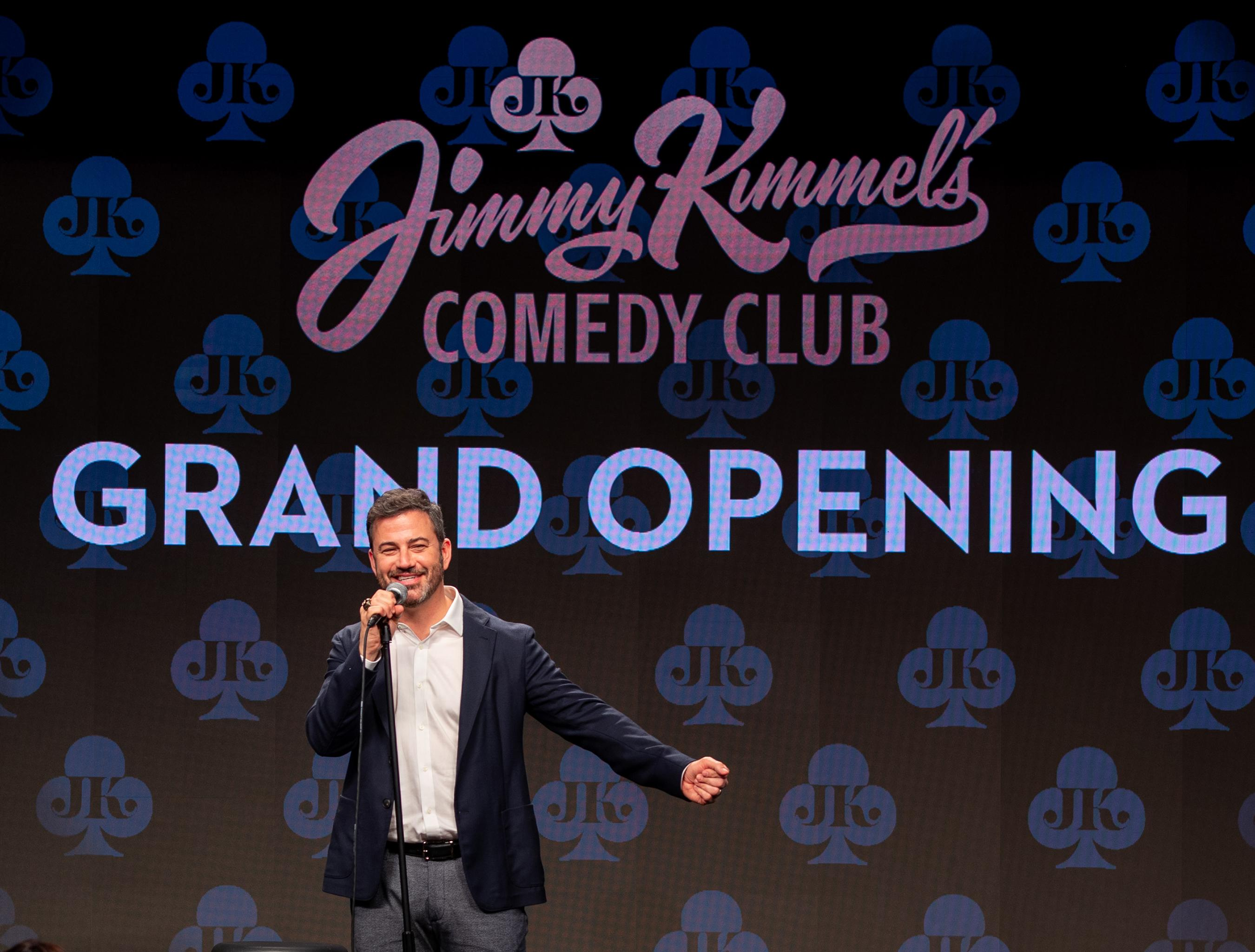 Jimmy Kimmel's Comedy Club Officially Launches at The LINQ Promenade with Appearances from Celebrity Guests and Friends