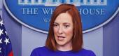 White House press secretary Jen Psaki. (Reuters)