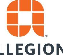 Allegion Declares Quarterly Dividend