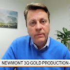Newmont CEO Palmer Sees Gold 'Going North Into $2,000'