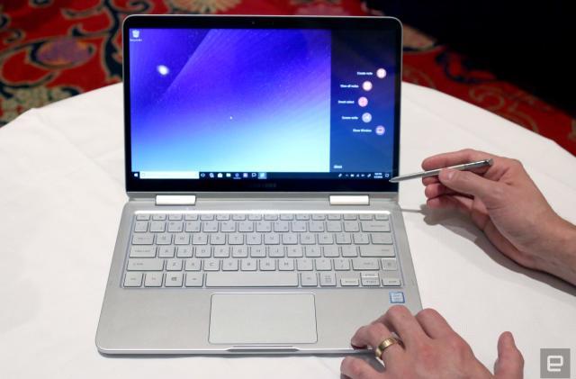Samsung's Notebook 9 Pen is a super-light Galaxy Note/laptop mashup