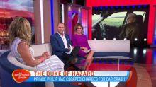 Prince Phillip escapes charges for car crash