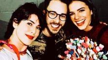 Bruna Marquezine comemora aniversário com amigos famosos em show de Sandy & Junior