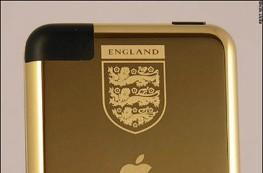 David Beckham gifted with gilded iPod touch for 100th England cap