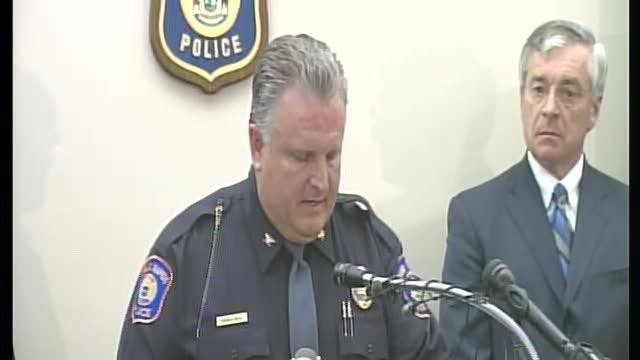 Police Chief at Grand Rapids shooting press conference