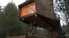 This Cozy Catskills Treehouse Is Perfect for a Relaxing Couple's Getaway