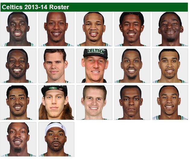 Blazer Team Roster 2013: Rajon Rondo Seems Excited About The 2013-14 Boston Celtics