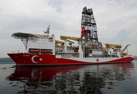 Turkey rejects claims it is drilling illegally for gas off Cyprus