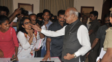 At Press Conference On Sexual Harassment, TN Governor Harasses Woman Journalist