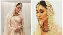 Kareena Kapoor Khan looks resplendent in the bridal look as she walks the ramp in Doha