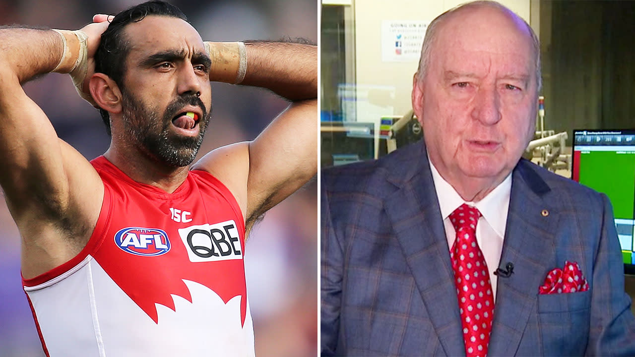 Calls for Alan Jones to quit over 'disgraceful' Adam Goodes comments
