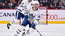 Maple Leafs sign Pierre Engvall to 2-year contract extension
