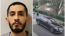 Shock CCTV shows driver hitting armed policeman while avoiding arrest