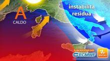 Meteo, Italia divisa. Ma nel weekend torna l'anticiclone