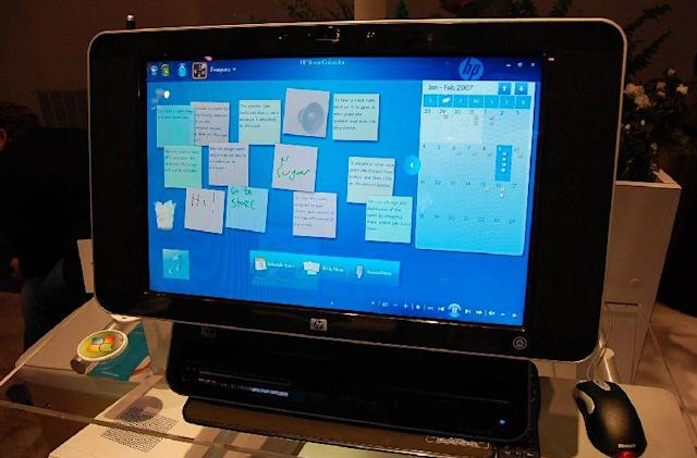 Video: Hands-on with HP's TouchSmart PC