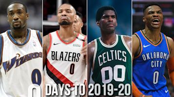 Countdown: Who's the best to ever wear No. 0?