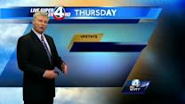 John Cessarich's forecast for August 28, 2013