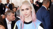 Grimes Got aHuge New Tattoo on Her Hand