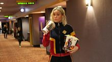 Brie Larson surprises fans with shock appearance at 'Captain Marvel' screening