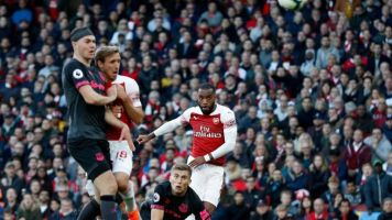 Arsenal news: Alexandre Lacazette was on the verge of being taken off before he opened the scoring against Everton