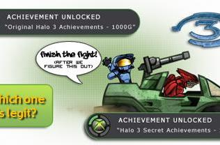 Secret set of Halo 3 Achievements found on Xbox.com
