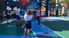 Hauts-de-Seine : à Clichy-La-Garenne, l'association parrainée par Novak Djokovic offre des cours de tennis aux enfants qui ne partent pas en vacances