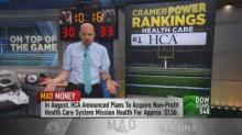 Cramer reveals 5 health-care stocks he likes right now, i...