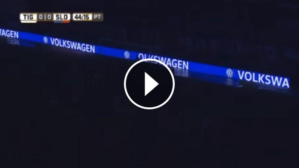 VIDEO: Así fue el corte de luz que interrumpió Tigre - San Lorenzo durante 15 minutos