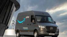 Mercedes-Benz Se Une a The Climate Pledge y Entrega Más de 1800 Vehículos Eléctricos a la Flota de Reparto de Amazon en Europa