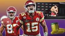 Patrick Mahomes, Travis Kelce Called Out By UFC Fighter For Multi-Sport Battle