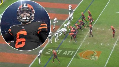 Rookie's crazy trick play ends 636-day losing streak