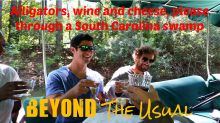 Wine, cheese and alligator hunting through South Carolina swamp