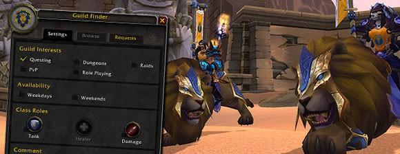 Breakfast Topic: How's the Guild Finder working for you?