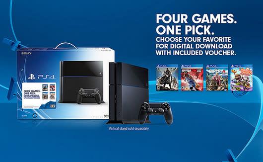 Walmart enhances new PS4 bundle with $50 gift card