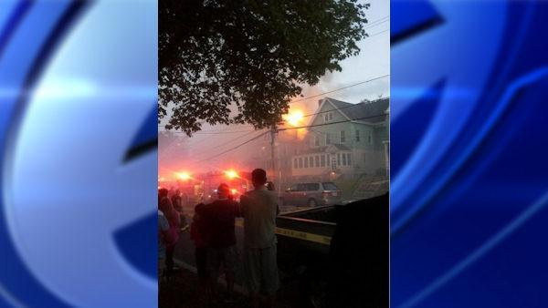 Passaic apartment fire injures two fire firefighters