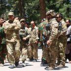Taliban fights to capture key Afghan cities as US intensifies air strikes