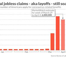 Another 6 million workers likely filed jobless claims in early April as record layoffs mount